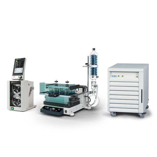 BUCHISyncorePlus Polyvap Parallel Evaporator System EasyFill R-12 Polyvap:Evaporators