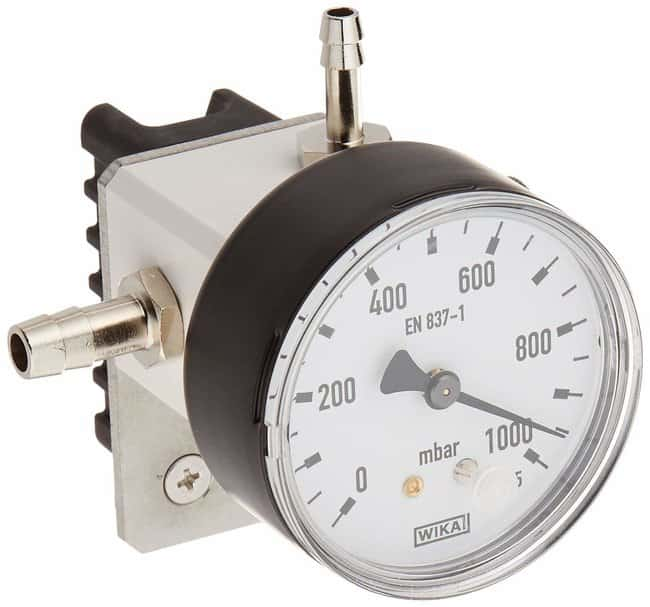 BUCHI Manometer with needle valve and vacuum gauge Manometer; With needle