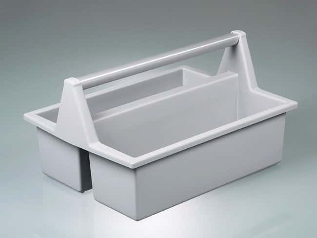 Buerkle™HDPE Bottle Carrier Box Dimensions: 420L x 300W x 210mmH Bottle Racks and Carriers