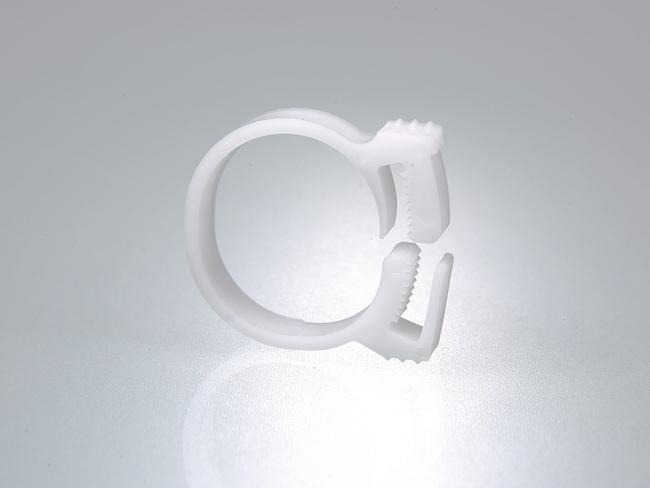 Buerkle™Pinza para tubo de poliacetal Diámetro: De 23 a 25 mm Buerkle™Pinza para tubo de poliacetal