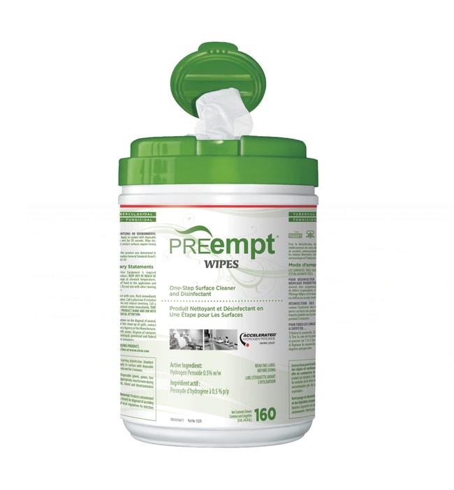 Contec™PREempt™ RTU Disinfectant Wipes