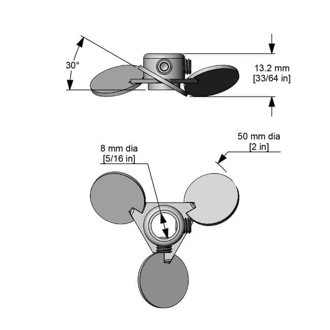 Caframo™ Pitched Blade Propeller