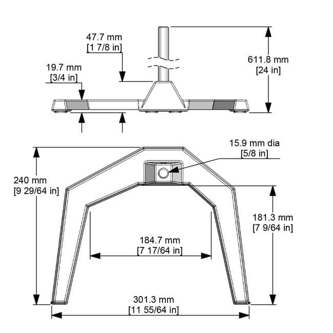 Caframo™Heavy-Duty Stands and Component Parts
