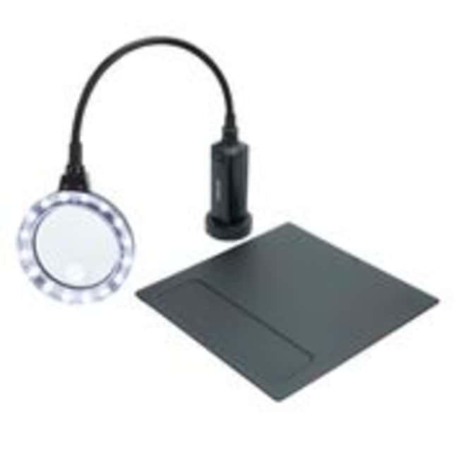 CarsonMagniFlex Pro LED Gooseneck Flexible Magnifier 2x magnifier:Education