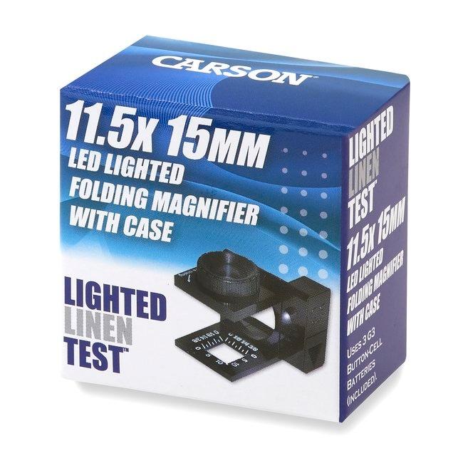 Carson™LinenTest™ Magnifiers