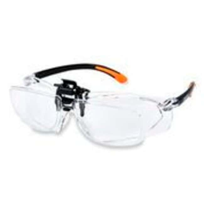 CarsonMagnifying Safety Glasses with Clip-on, Flip-Up Lens System 1.5X