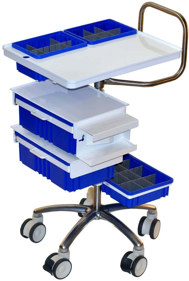Centicare Deluxe Phlebotomy Cart For Lap Tops And Extra