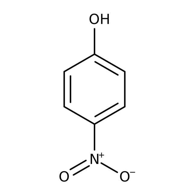 4-Nitrophenol, 99%, ACROS Organics™ 250g; Plastic bottle 4-Nitrophenol, 99%, ACROS Organics™