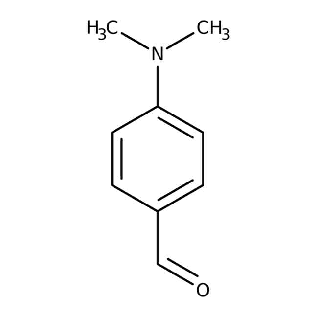 4-Dimethylaminobenzaldehyde, 99+%, ACROS Organics™ 2.5Kg; Plastic bottle 4-Dimethylaminobenzaldehyde, 99+%, ACROS Organics™