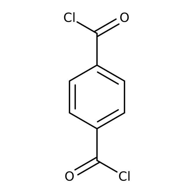 Alfa Aesar™Cloruro de tereftaloil, 99% 1000g Alfa Aesar™Cloruro de tereftaloil, 99%