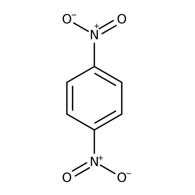 1,4-Dinitrobenzene, 98%, ACROS Organics™ 5g; Glass bottle 1,4-Dinitrobenzene, 98%, ACROS Organics™