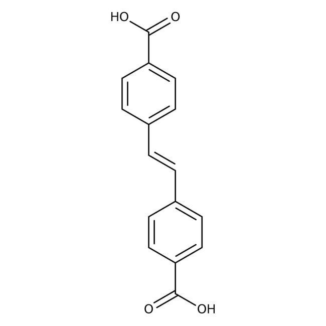 Alfa Aesar™4,4'-Stilbenedicarboxylic acid, 96% 25g Alfa Aesar™4,4'-Stilbenedicarboxylic acid, 96%