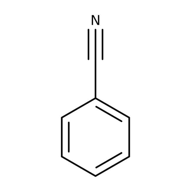 Benzonitrile, for HPLC, ACROS Organics™ 100mL, Glass bottle Benzonitrile, for HPLC, ACROS Organics™