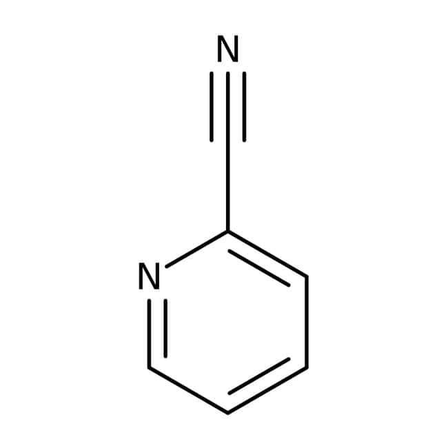 2-Cyanpyridin 99%, ACROS Organics™ 100 g-Glasflasche 2-Cyanpyridin 99%, ACROS Organics™