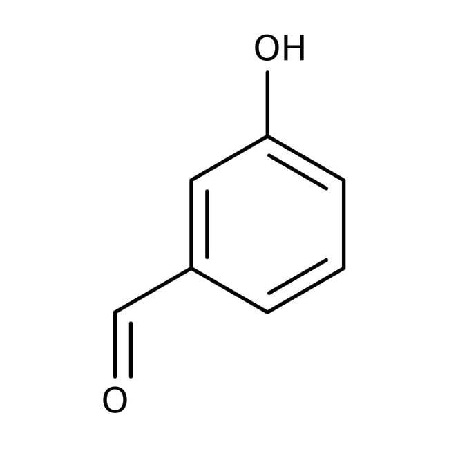 3-Hydroxybenzaldehyde, 98.5%, ACROS Organics™ 500g; Plastic bottle 3-Hydroxybenzaldehyde, 98.5%, ACROS Organics™