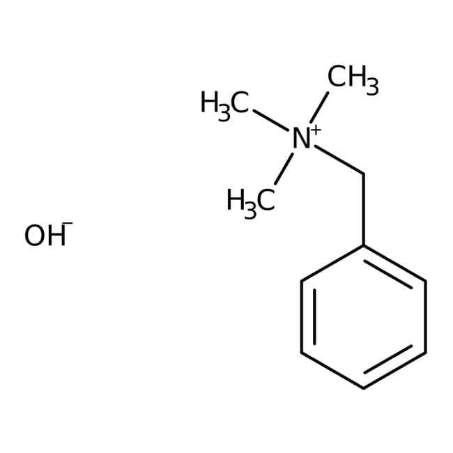 Benzyltrimethylammonium-Hydroxid, 40 Gew.-% in Methanol, ACROS Organics™: Puffer und Lösungen Chemicals