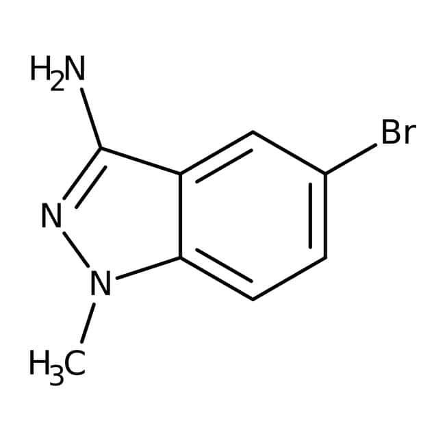 Alfa Aesar™3-Amino-5-bromo-1-methyl-1H-indazole, 97% 250mg Alfa Aesar™3-Amino-5-bromo-1-methyl-1H-indazole, 97%