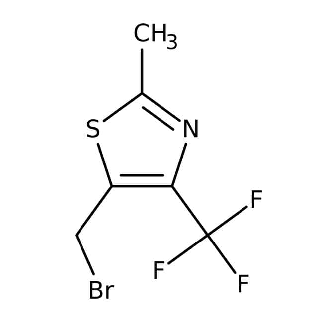 5-(bromomethyl)-2-methyl-4-(trifluoromethyl)-1,3-thiazole, 97%, Maybridge™
