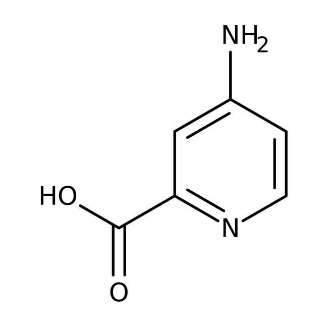 4-Aminopyridin-2-carbonsäure, 97%, Acros Organics™ 250mg 4-Aminopyridin-2-carbonsäure, 97%, Acros Organics™