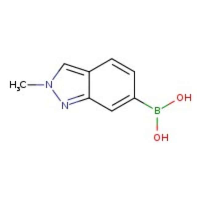2-Methyl-2H-indazole-6-boronic acid, 97%, ACROS Organics