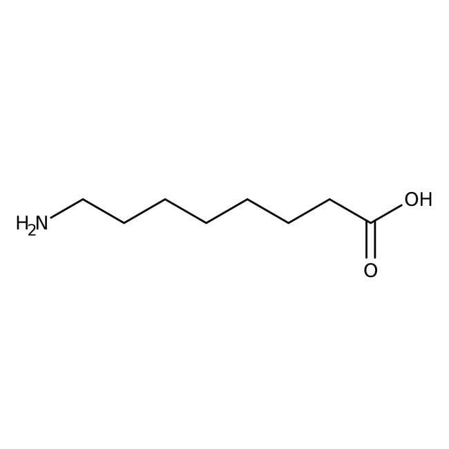 Alfa Aesar™Ácido 8-aminooctanoico, 99% 1g Alfa Aesar™Ácido 8-aminooctanoico, 99%