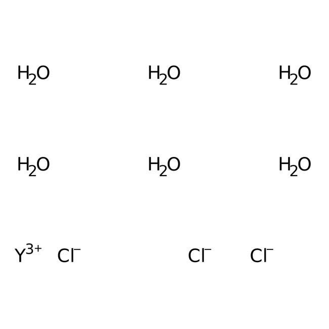 Yttrium(III)-chlorid-Hexahydrat, 99.9%, (Metallspurenanalyse), ACROS Organics™ 50 g-Glasflasche Yttrium(III)-chlorid-Hexahydrat, 99.9%, (Metallspurenanalyse), ACROS Organics™