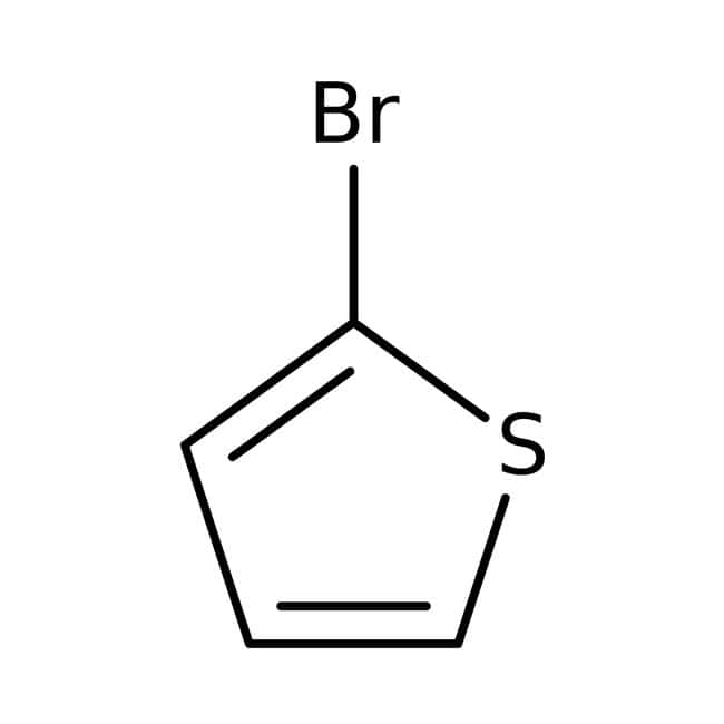 2-Bromothiophene, 98%, ACROS Organics™ 250mL; Glass bottle 2-Bromothiophene, 98%, ACROS Organics™