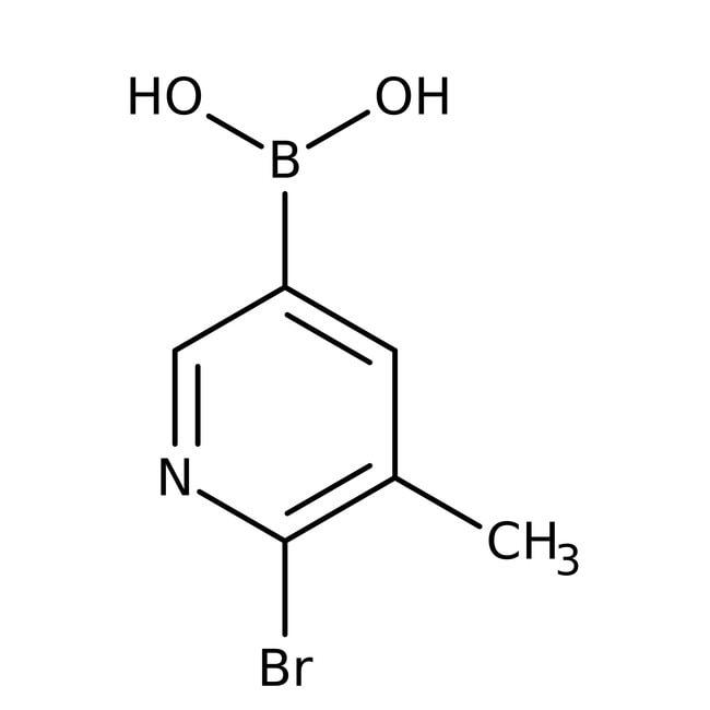 Alfa Aesar™6-Bromo-5-methylpyridine-3-boronic acid, 95% 1g Alfa Aesar™6-Bromo-5-methylpyridine-3-boronic acid, 95%