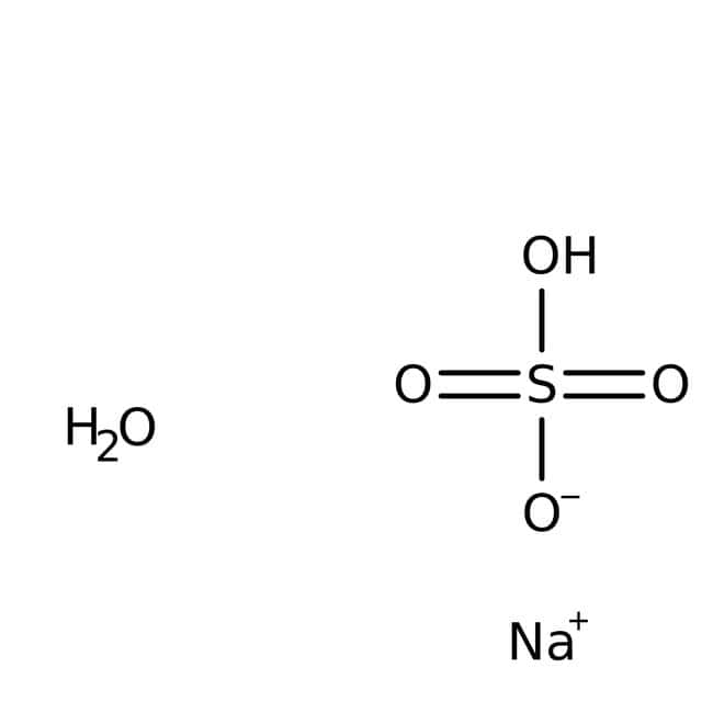 Sodium bisulfate monohydrate, 99%, for analysis, ACROS Organics™