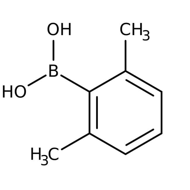 2,6-Dimethylphenylboronic acid, 98%, ACROS Organics™ 25g; Glass bottle 2,6-Dimethylphenylboronic acid, 98%, ACROS Organics™