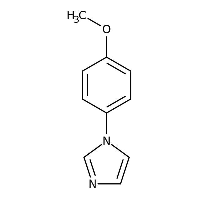 Alfa Aesar™1-(4-Metoxifenil)imidazol, 98 % 1g Alfa Aesar™1-(4-Metoxifenil)imidazol, 98 %