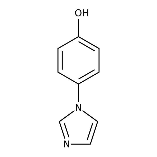 4-(1H-Imidazol-1-yl)phenol, 97%, ACROS Organics