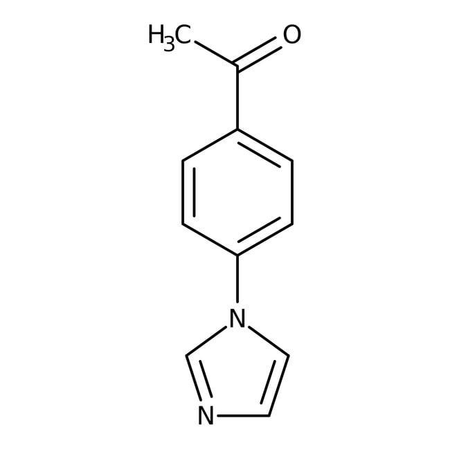 4'-(Imidazol-1-yl)acetophenone, 97%, ACROS Organics