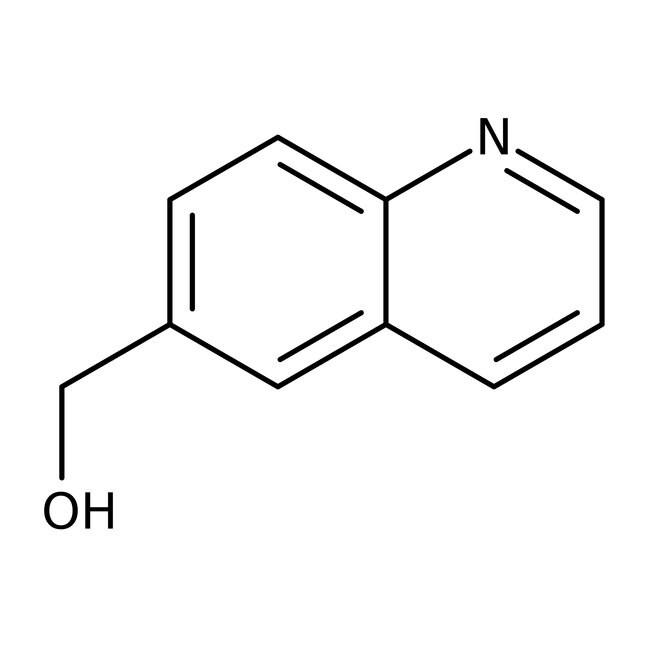 6-Quinolinylmethanol, 97%, Maybridge™ Amber Glass Bottle; 250mg 6-Quinolinylmethanol, 97%, Maybridge™