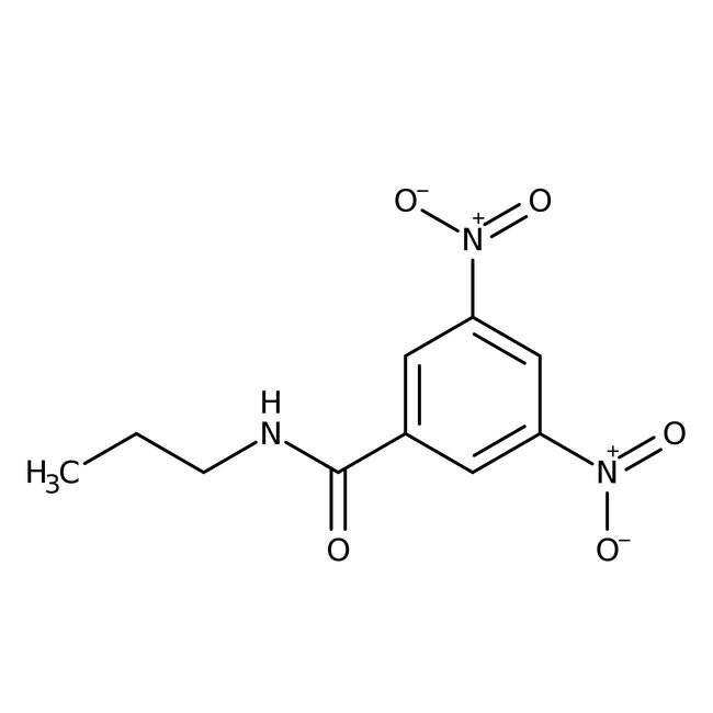 Alfa Aesar™3,5-Dinitro-N-propylbenzamide, 97% 250mg Alfa Aesar™3,5-Dinitro-N-propylbenzamide, 97%