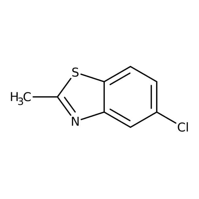 Alfa Aesar™5-chloro-2-méthylbenzothiazole, 98%: Aryl halides Organohalogen compounds