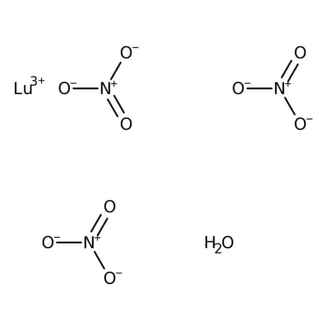 Alfa Aesar™Lutetium(III) nitrate hydrate, REacton™, 99.99% (REO) 10g Alfa Aesar™Lutetium(III) nitrate hydrate, REacton™, 99.99% (REO)