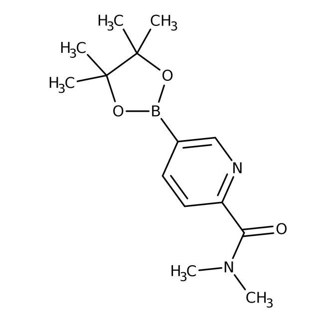 Alfa Aesar™2-(Dimethylcarbamoyl)pyridine-5-boronic acid pinacol ester, 96%