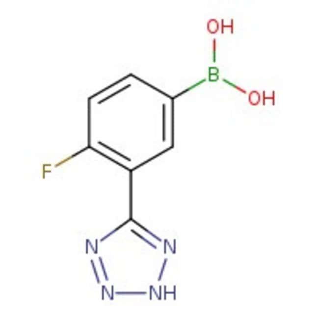 4-Fluoro-3-(tetrazol-5-yl)phenylboronic acid, 95%, ACROS Organics™