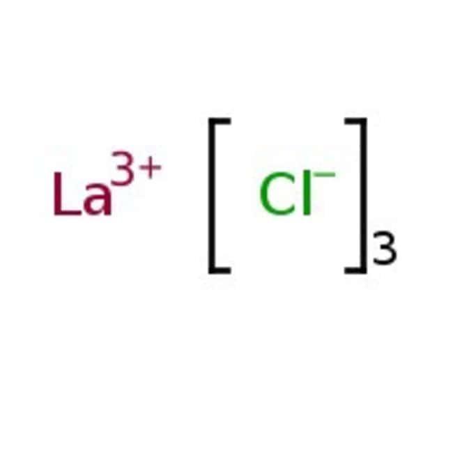 Lanthanum(III) chloride, ultra dry, White beads, 99.99% (Metals basis), Alfa Aesar™