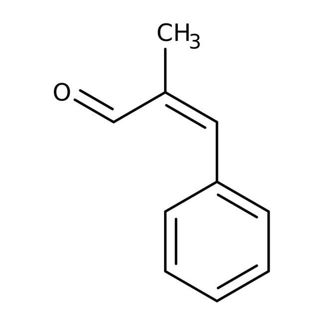 Alfa Aesar™alpha-Methylcinnamaldehyde, predominantly (E), 97% 100g Alfa Aesar™alpha-Methylcinnamaldehyde, predominantly (E), 97%