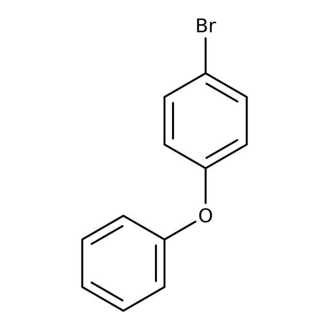 4-Bromodiphenyl ether, 99%, ACROS Organics™ 5g, Glass bottle 4-Bromodiphenyl ether, 99%, ACROS Organics™