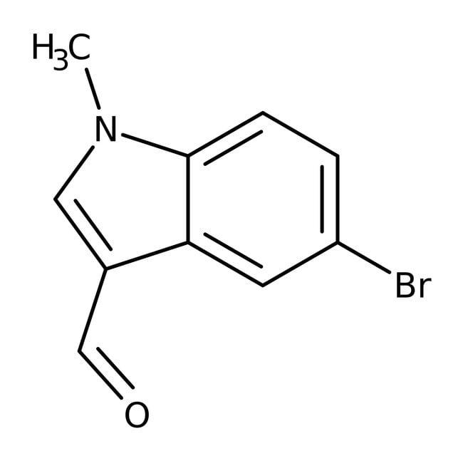 5-Brom-1-methyl-1H-indol-3-carbaldehyd, Maybridge Braunglasflasche, 1g 5-Brom-1-methyl-1H-indol-3-carbaldehyd, Maybridge
