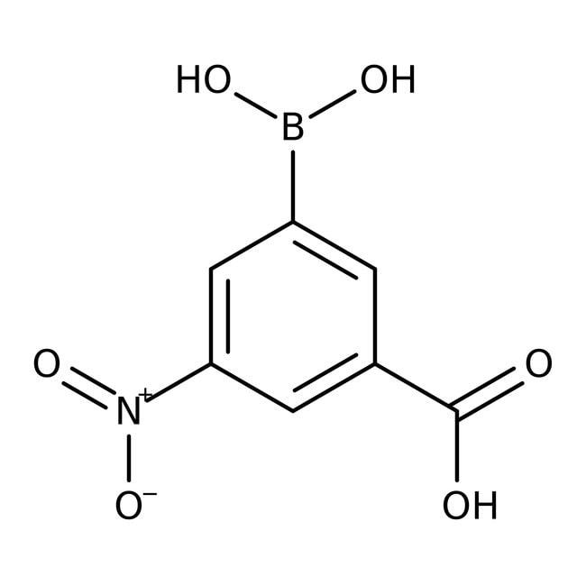 3-Carboxy-5-nitrophenylboronic acid, 97%, ACROS Organics™ 5g 3-Carboxy-5-nitrophenylboronic acid, 97%, ACROS Organics™