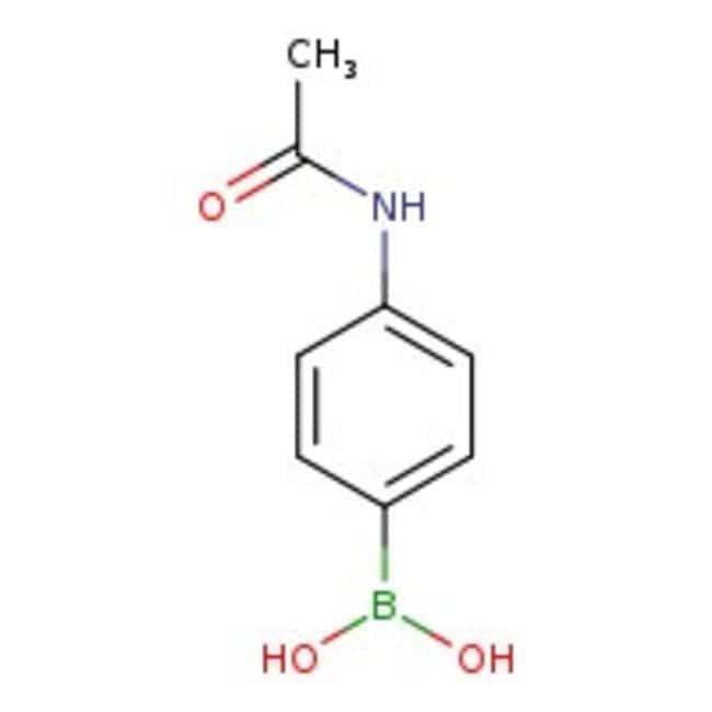4-Acetamidophenylboronic acid, 97+%, ACROS Organics™
