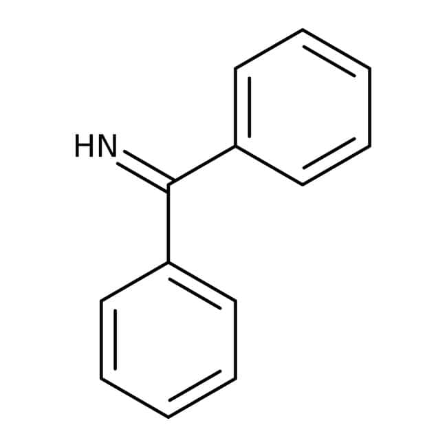Benzophenone imine, 97%, stabilized, ACROS Organics™ 25g; Glass bottle Benzophenone imine, 97%, stabilized, ACROS Organics™