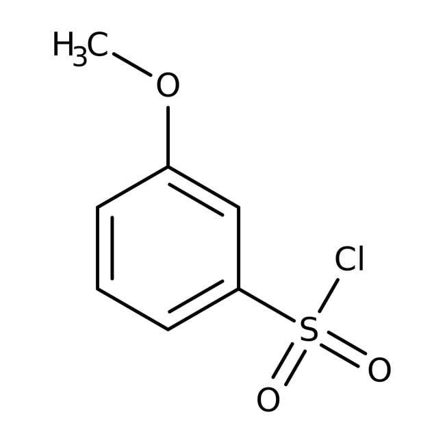 3-Methoxybenzenesulfonyl chloride, 96%, ACROS Organics™