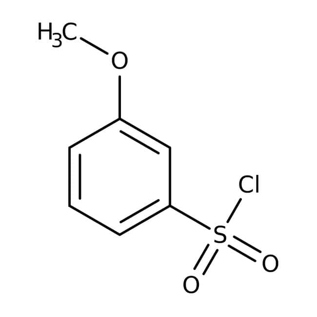 3-Methoxybenzolsulfonylchlorid, 96%, Acros Organics™ 1g; Glass bottle 3-Methoxybenzolsulfonylchlorid, 96%, Acros Organics™