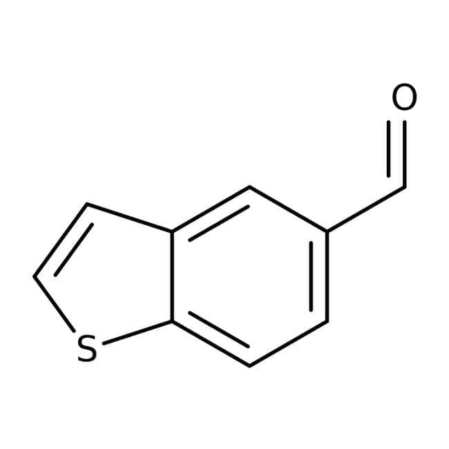 1-Benzothiophene-5-carbaldehyde, 97%, Maybridge™ Amber Glass Bottle; 250mg 1-Benzothiophene-5-carbaldehyde, 97%, Maybridge™