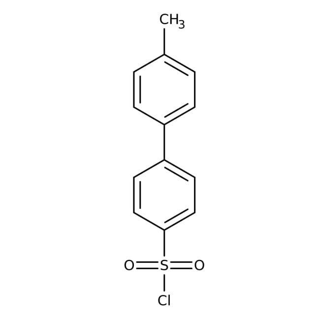 4'-Methylbiphenyl-4-sulfonyl chloride, 97%, ACROS Organics™ 5g 4'-Methylbiphenyl-4-sulfonyl chloride, 97%, ACROS Organics™